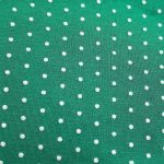Pois turquoise