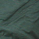Rayé gris et turquoise