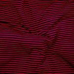 Rayé noir et rouge